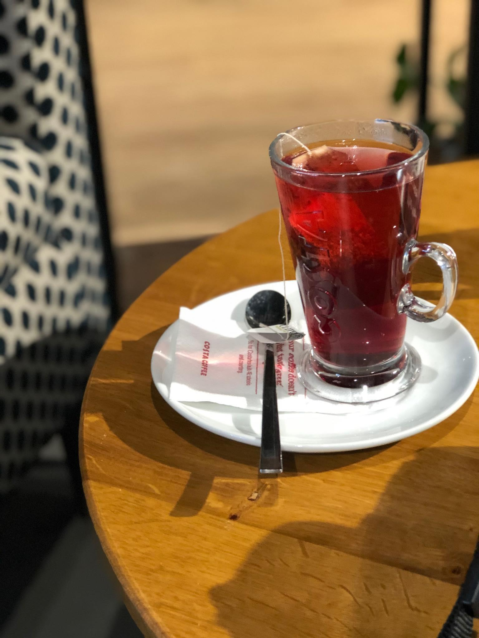 Wild berries tea