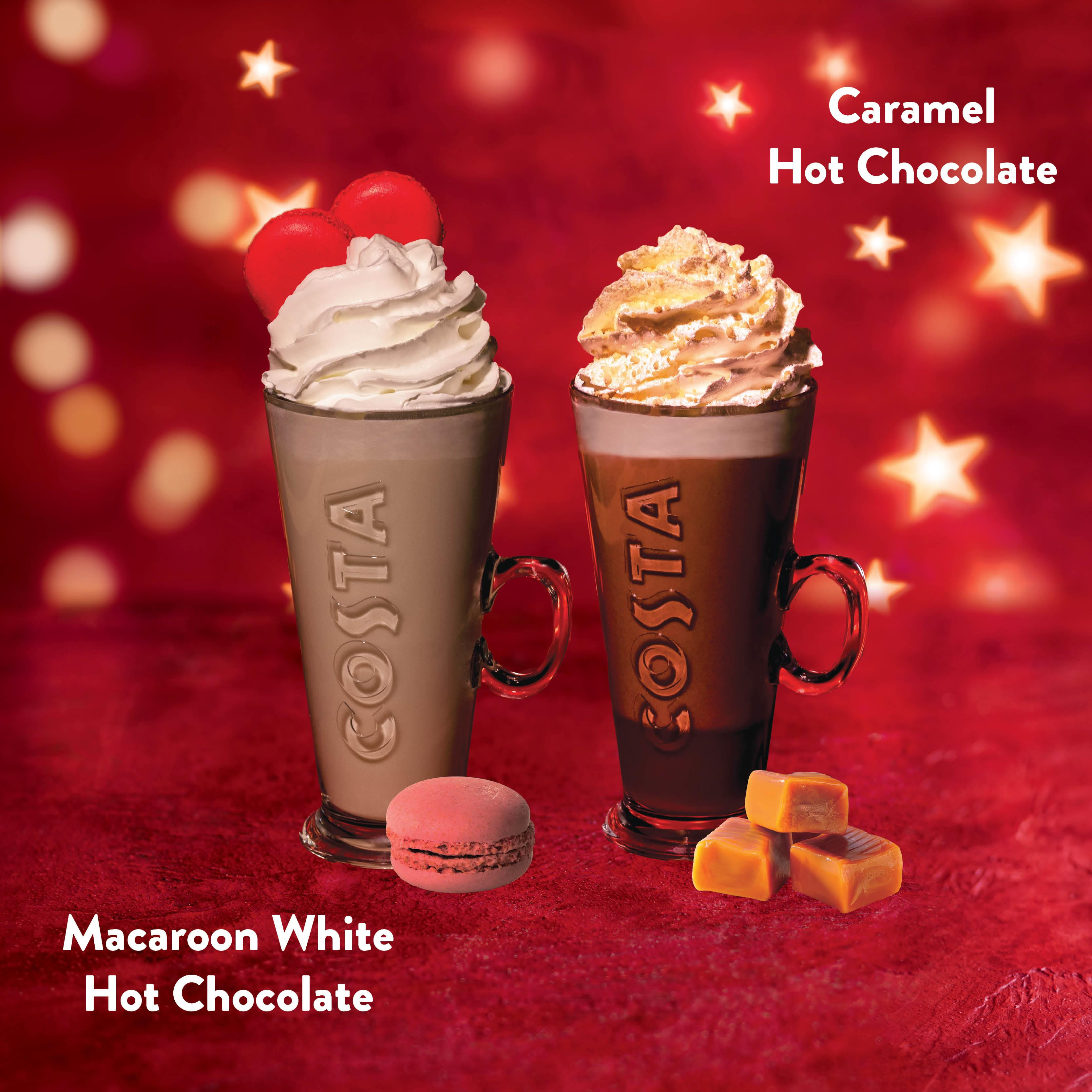Macaroon & Caramel Hot Chocolate
